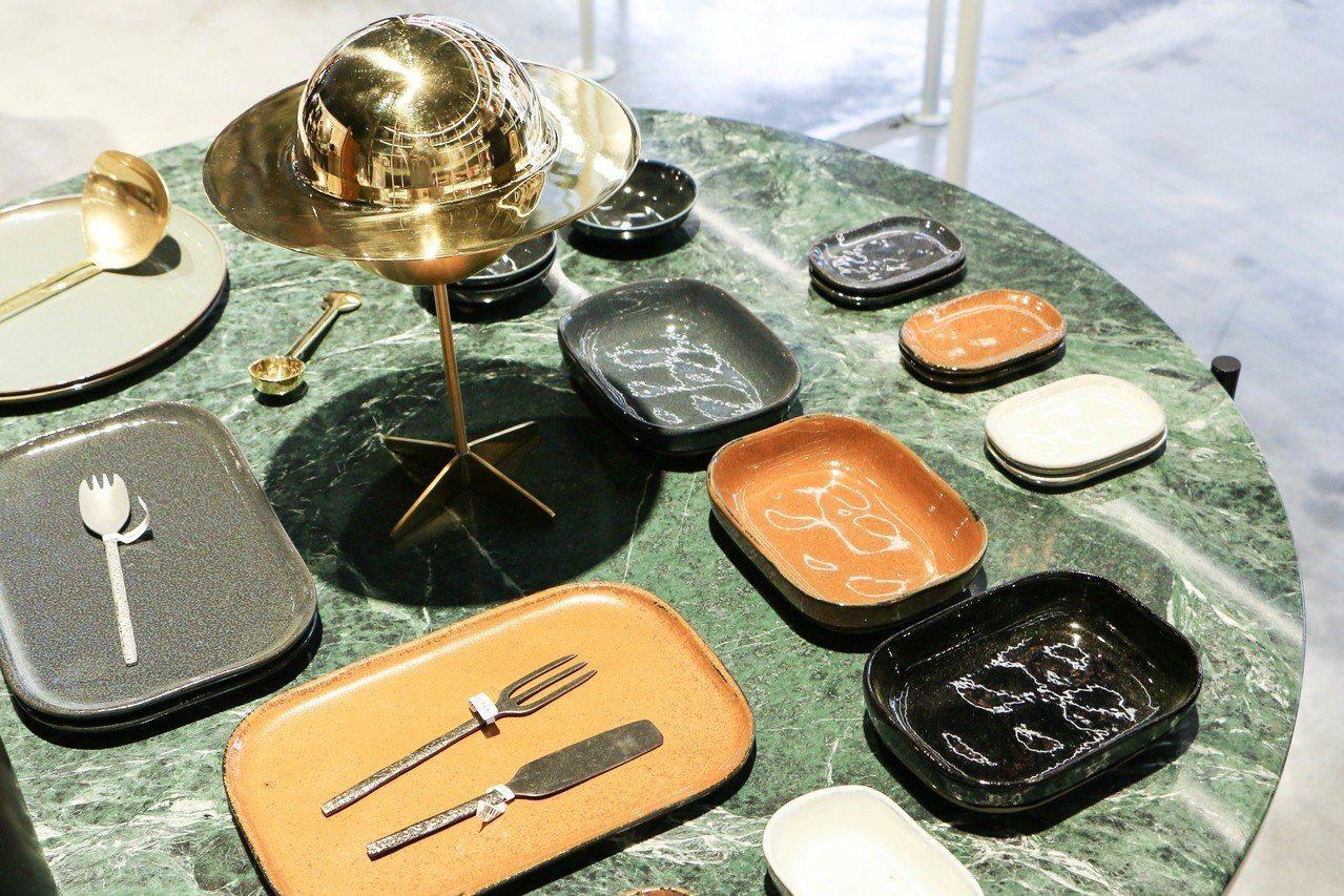比利時SERAX X MERCI餐盤與餐具,162元~3,420元。圖/謝欣倫攝...
