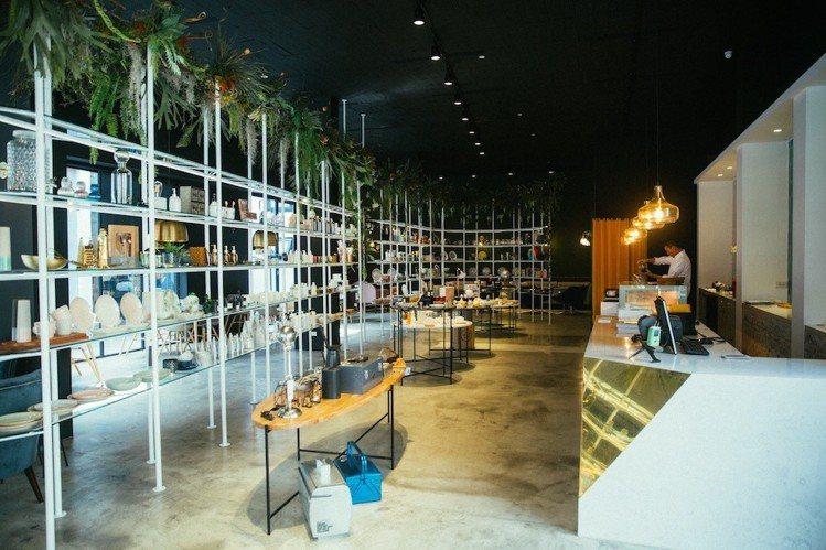 瑪黑家居「選物 X 選茶」複合概念旗艦店。圖/瑪黑家居提供