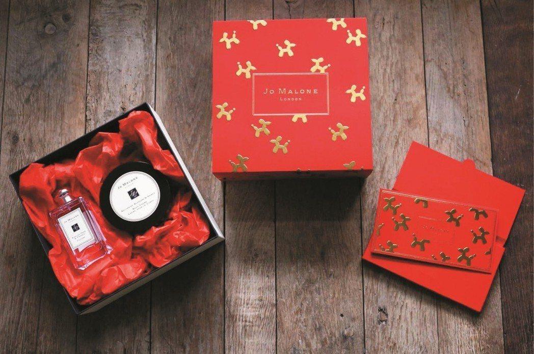 JO MALONE限量香氛禮盒每盒推薦價2,800~3,800元。圖/新光三越提...