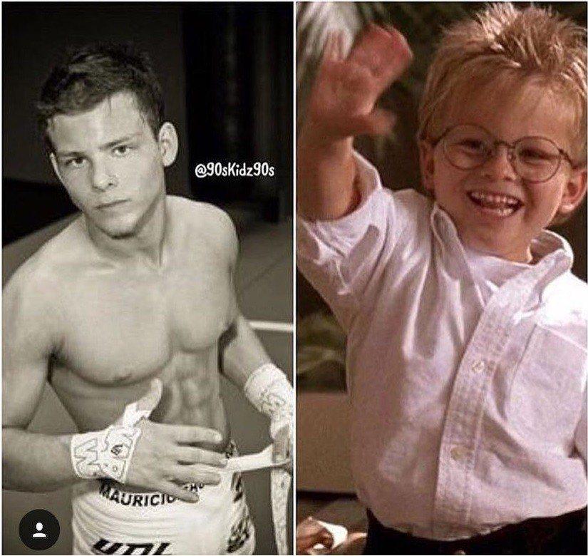 強納森林普妮基已從小童星長成肌肉男。圖/摘自Instagram