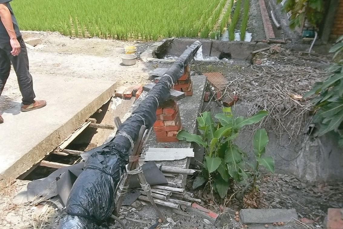 彰化溪州等內陸地區地層下陷仍有惡化現象,地下水抽取管制是當務之急。 圖/彰化縣政...