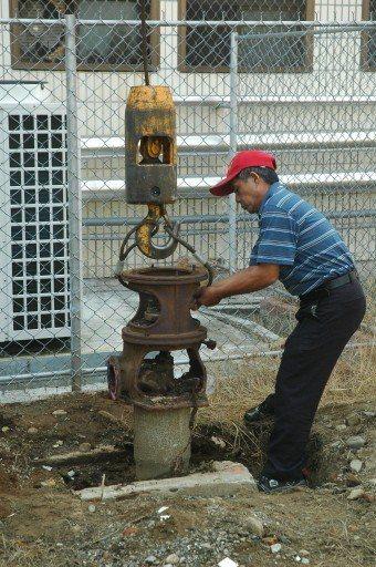 為防止地層下陷,雲林縣政府對違法水井即查即封。 圖/聯合報系資料照片