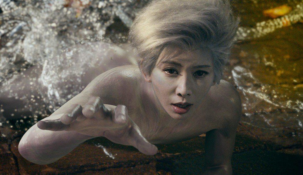 林志玲在「西遊記女兒國」演出河神。圖/海樂提供