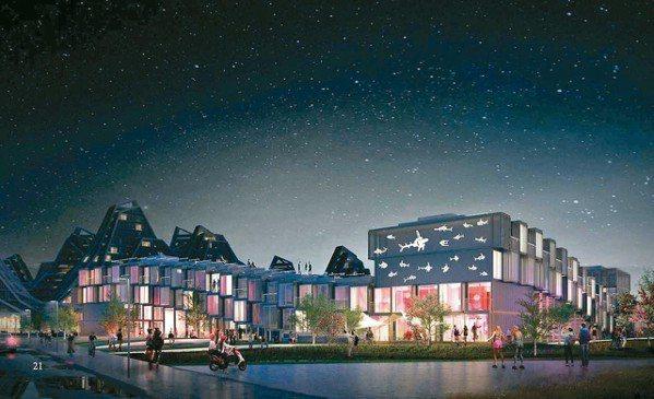 台開花蓮洄瀾灣預鑄鋼構「樂多坊」(Fun House)旅館,將全案打造成新型態休...