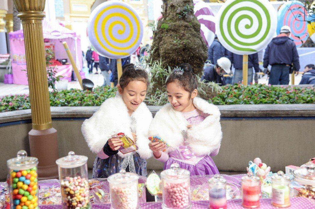 六福村「甜蜜魔宮-甜點嘉年華」慶典異國風情糖果市集。六福村主題遊樂園/提供