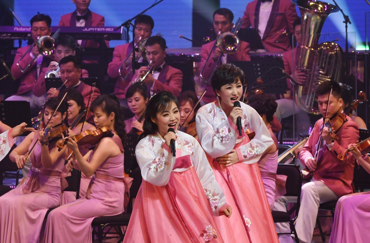 為平昌冬季奧運會進行慶賀演出的北韓三池淵管弦樂團曾在2月7日下午一度停止彩排。 ...