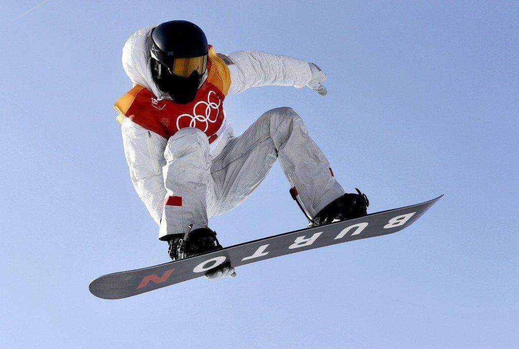 美國隊冬奧第100金,傳奇名將懷特拿下。 美聯社