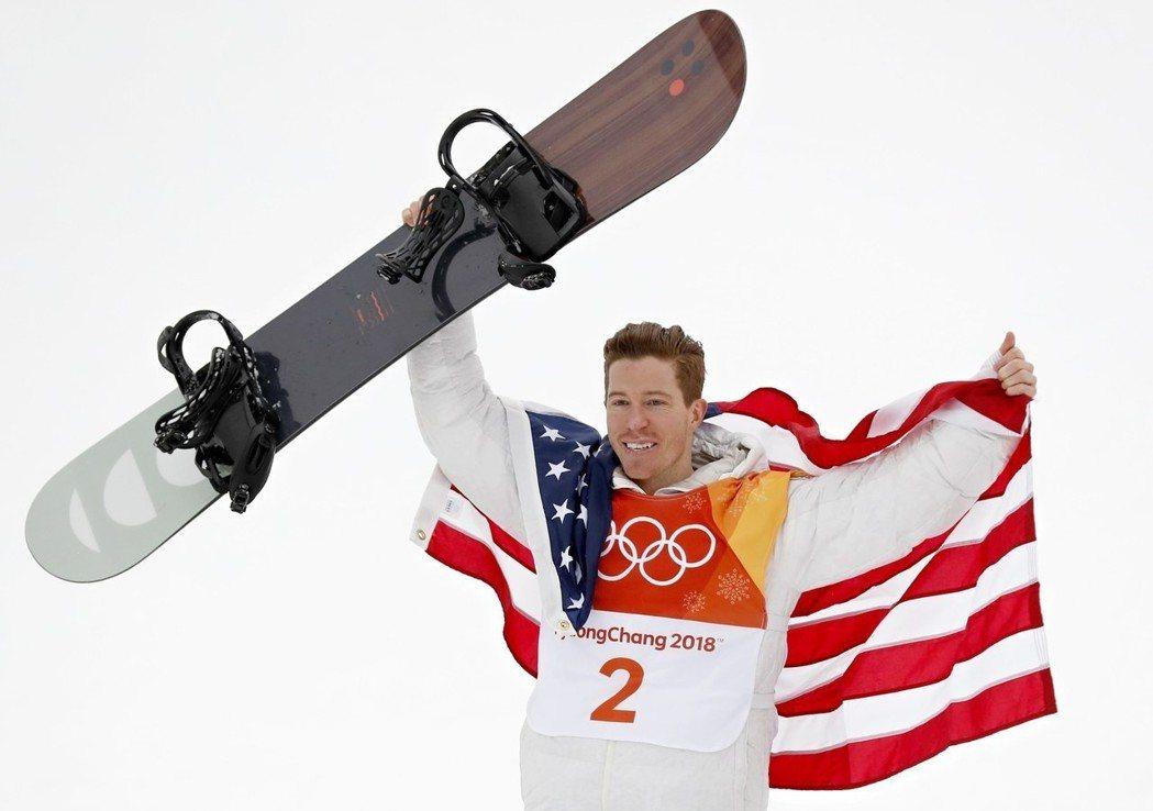 美國隊冬奧傳奇名將懷特拿下。 歐新社