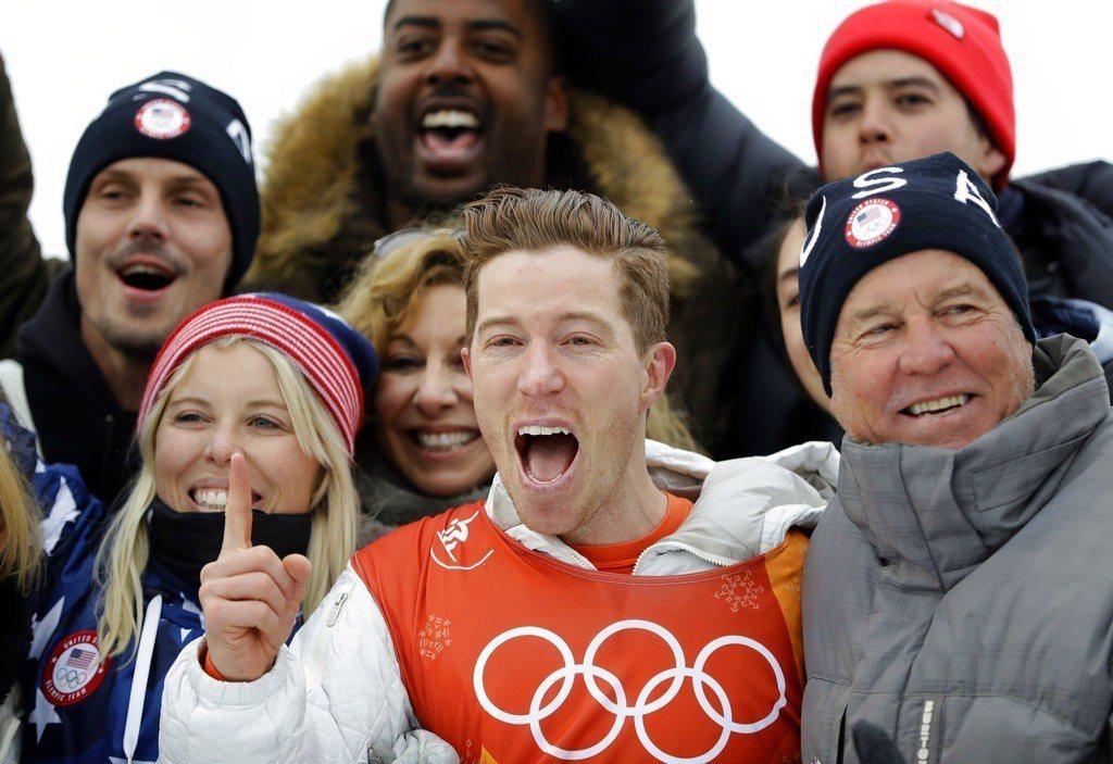 懷特為美國拿下冬奧史上第100面金牌。 美聯社