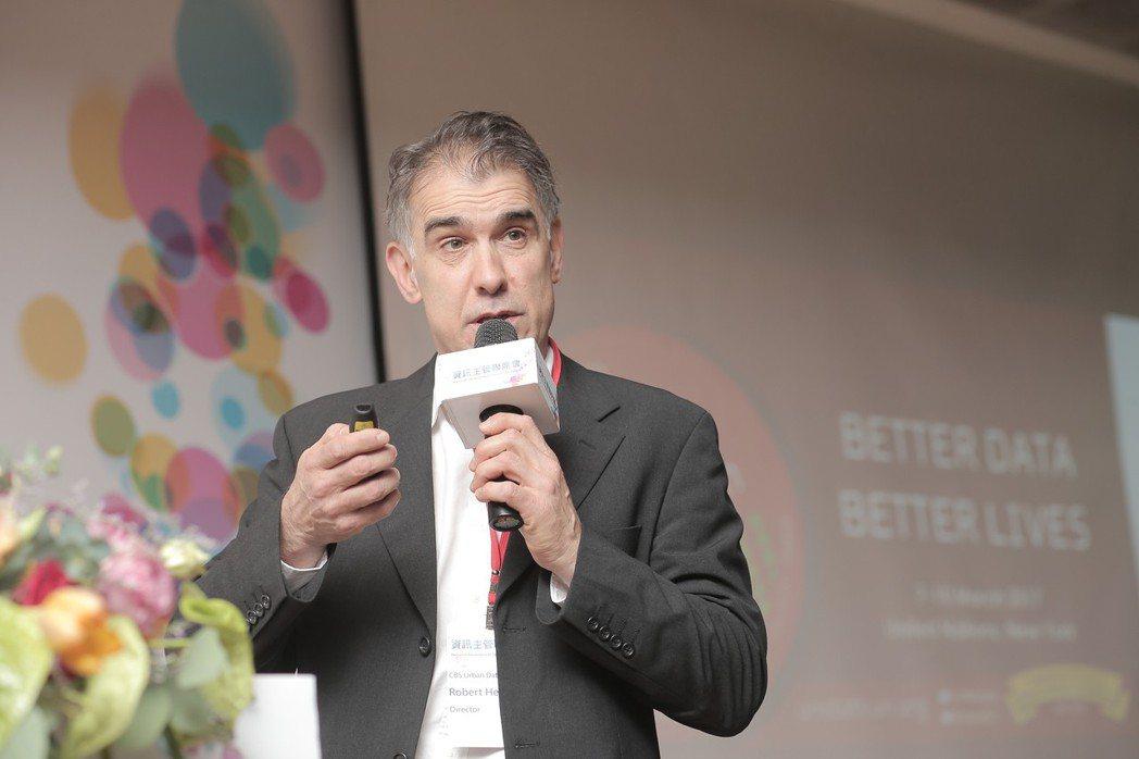 荷蘭中央統計局都市資料中心主任Robert Hermans。 國發會/提供