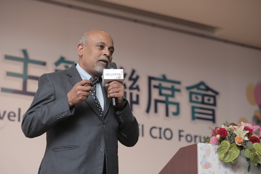 新加坡大學電子政府領袖中心主任Ashok Kumar Seetharaman。 ...