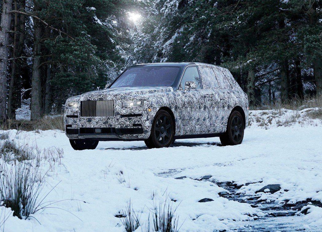 勞斯萊斯全新全地形車正式命名為CULLINAN。 圖/Rolls-Royce提供