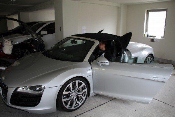 買名車的AV男優清水健。 圖片來源/ av-twitter