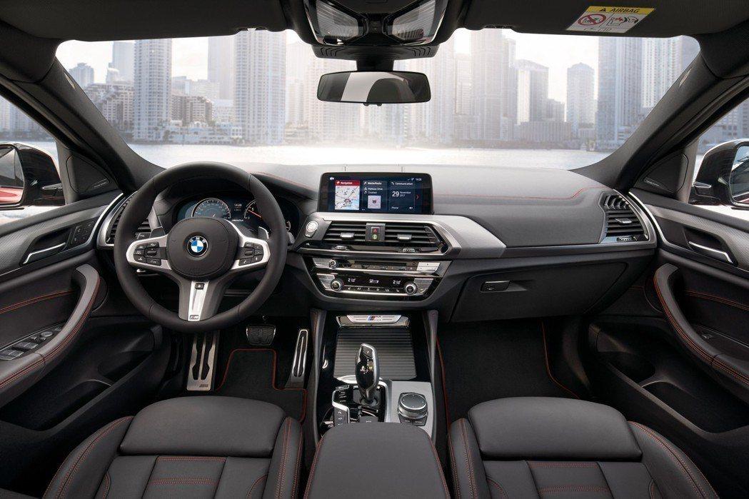 全新BMW X4(G02) 車室。 摘自BMW