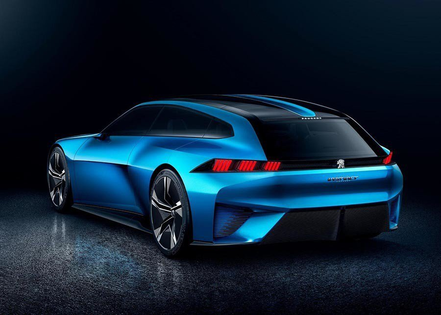 Instinct concept概念車。 Peugeot提供