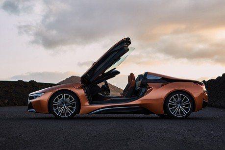美規BMW i8 Roadster將於3月上市 售價480萬NT有找
