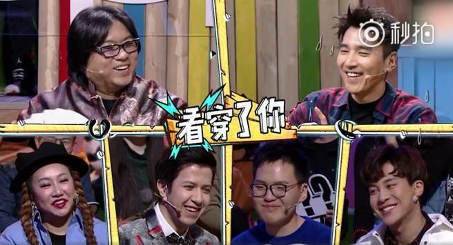 趙又廷在大陸節目上透露喜歡高圓圓的原因。圖/摘自秒拍