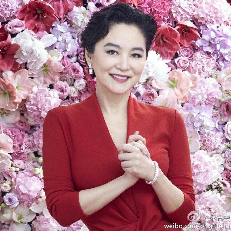 林青霞被譽為華人第一美人。圖/摘自微博