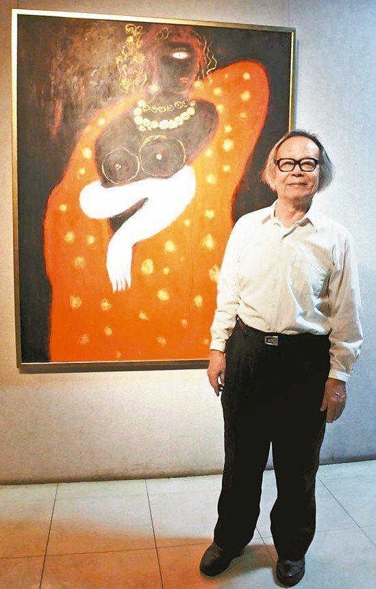 彩藝風華-黃照芳八十個展 目前正在嘉義市立博物館展出。圖/文化局提供