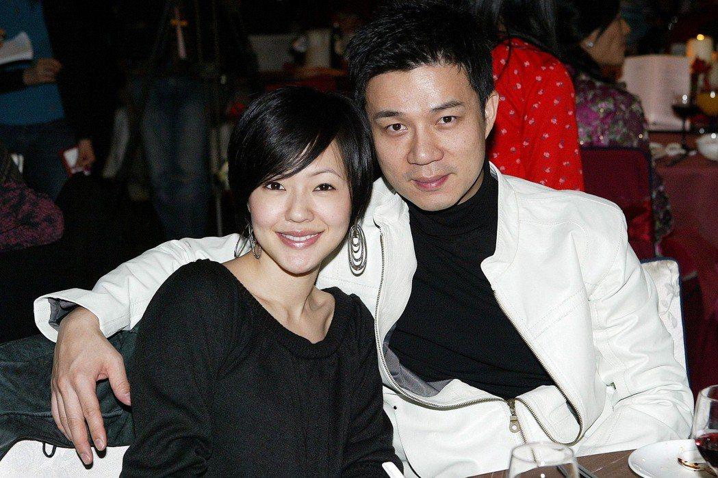 小S(左)和老公許雅鈞。圖/聯合報系資料照