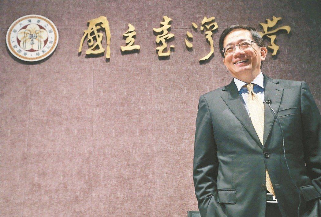 台灣大學校長當選人管中閔遲遲無法上任。本報資料照片