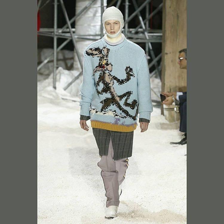 Calvin Klein 2018秋冬男女裝。圖/擷取自IG