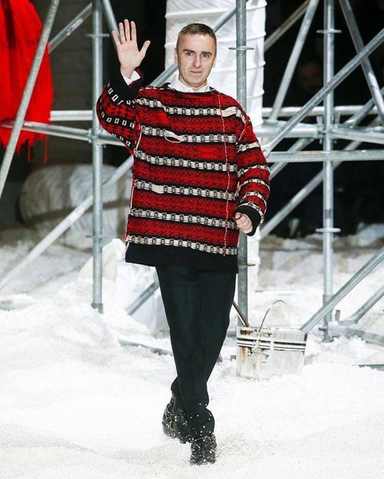 Calvin Klein 創意總監Raf Simons。圖/擷取自IG