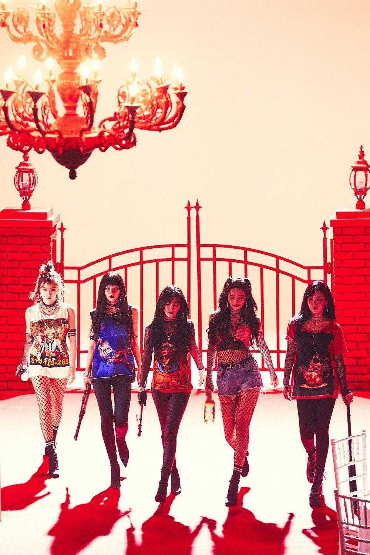 Red Velvet即將來台會粉絲。圖/亞士傳媒提供