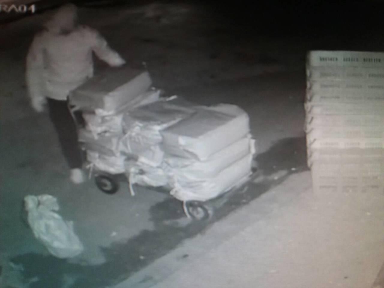 苗栗縣通霄警分局查獲薑粉竊案3名竊賊,將3人移送法辦。圖/警方提供