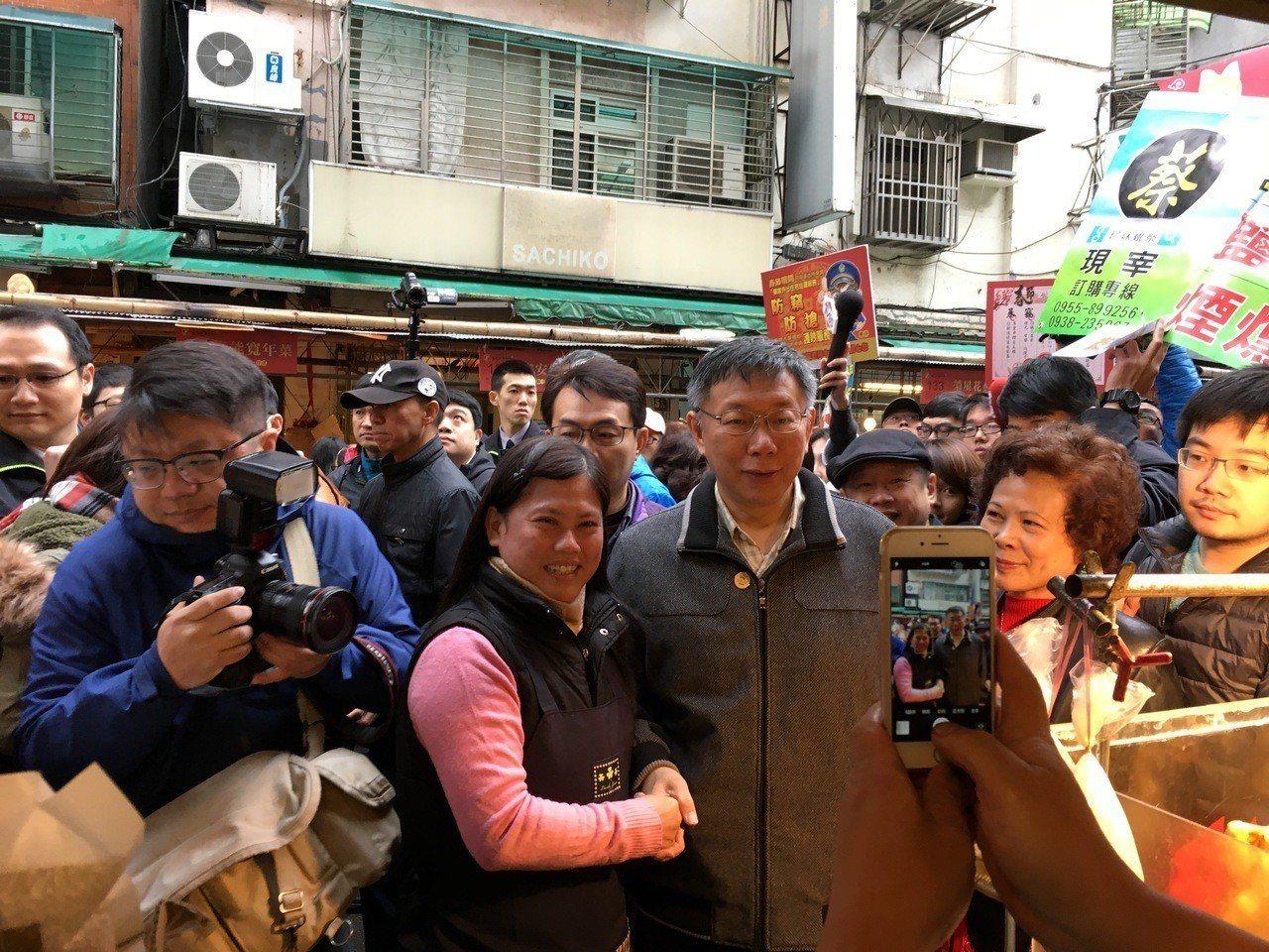 台北市柯文哲擔任犯罪預防宣導大使。圖/警方提供