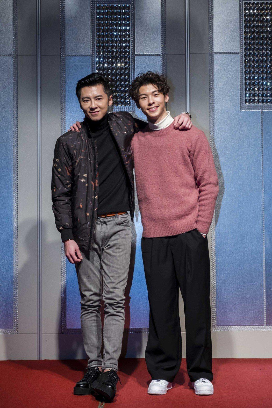 李國毅(左)與許光漢在「1006的房客」中是好哥們。圖/歐銻銻娛樂