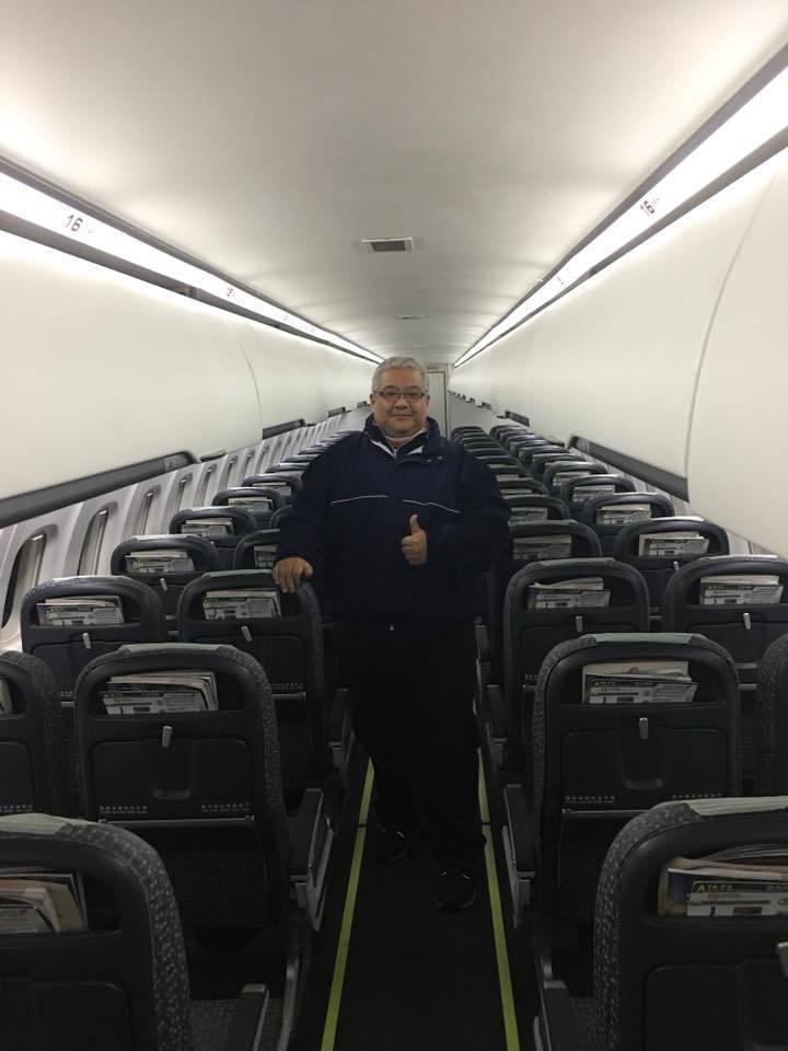 在縣府服務的商先生昨晚要搭機返台過年,沒想到整架飛機只有他一人,幸運享受需要花上...