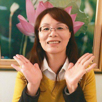 新北市海山警分局巡佐蔡淑女。 記者王長鼎/攝影