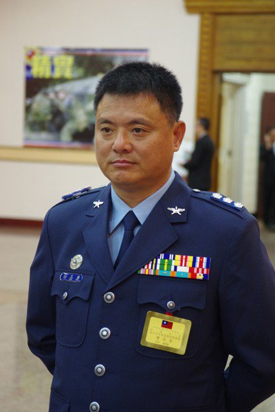 飛彈指揮部前指揮官謝嘉康。 聯合報系資料照片