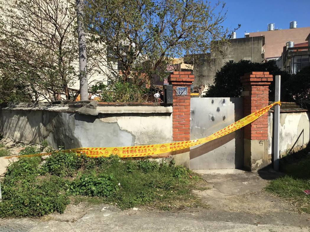 新竹太原第(溫宅),兩周前提報為暫定古蹟,如今遭拆除。 記者郭宣彣/攝影