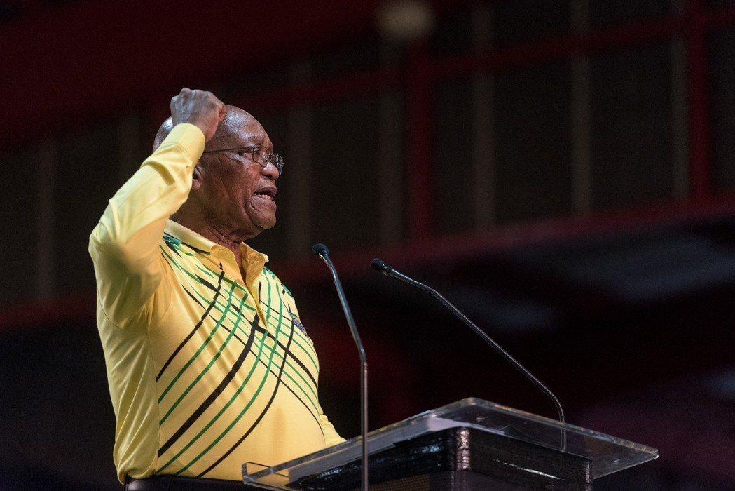 南非總統雅各布·祖馬辭職。 新華社資料照片