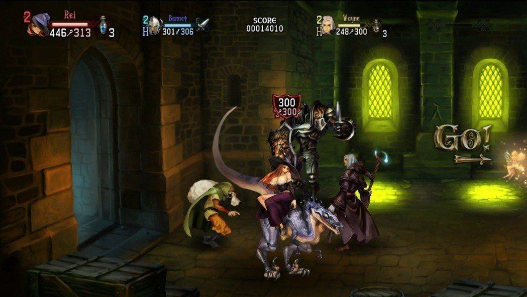 場景的多樣互動,怪物也能變成您的作戰夥伴!