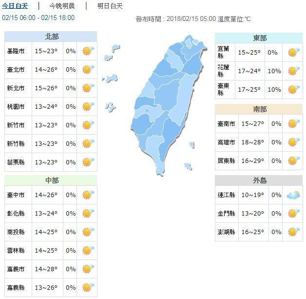 圖/中央氣象局提供