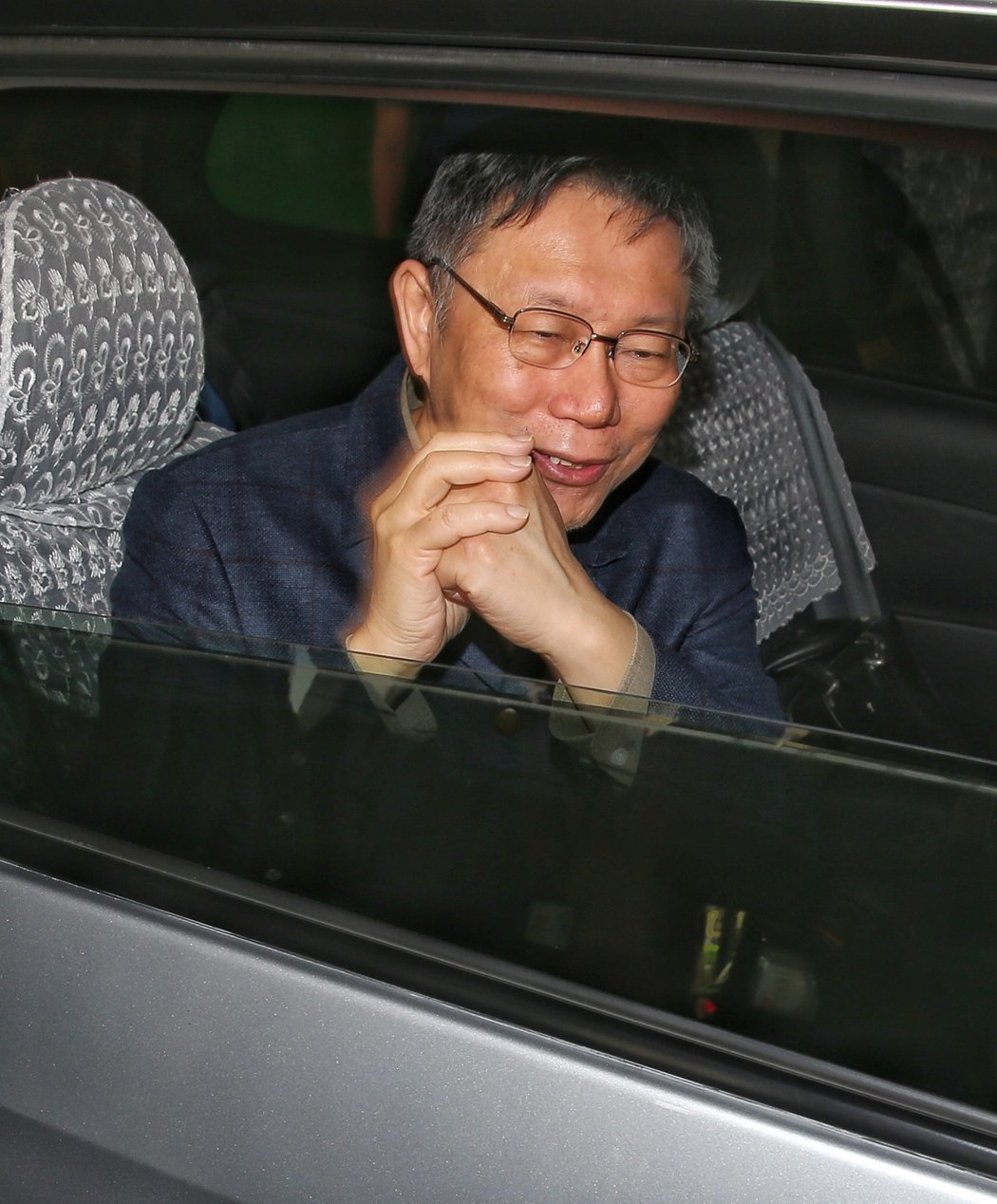 柯文哲說,離選舉還有10個月以上,還有很多時間可以處理。記者鄭清元/攝影