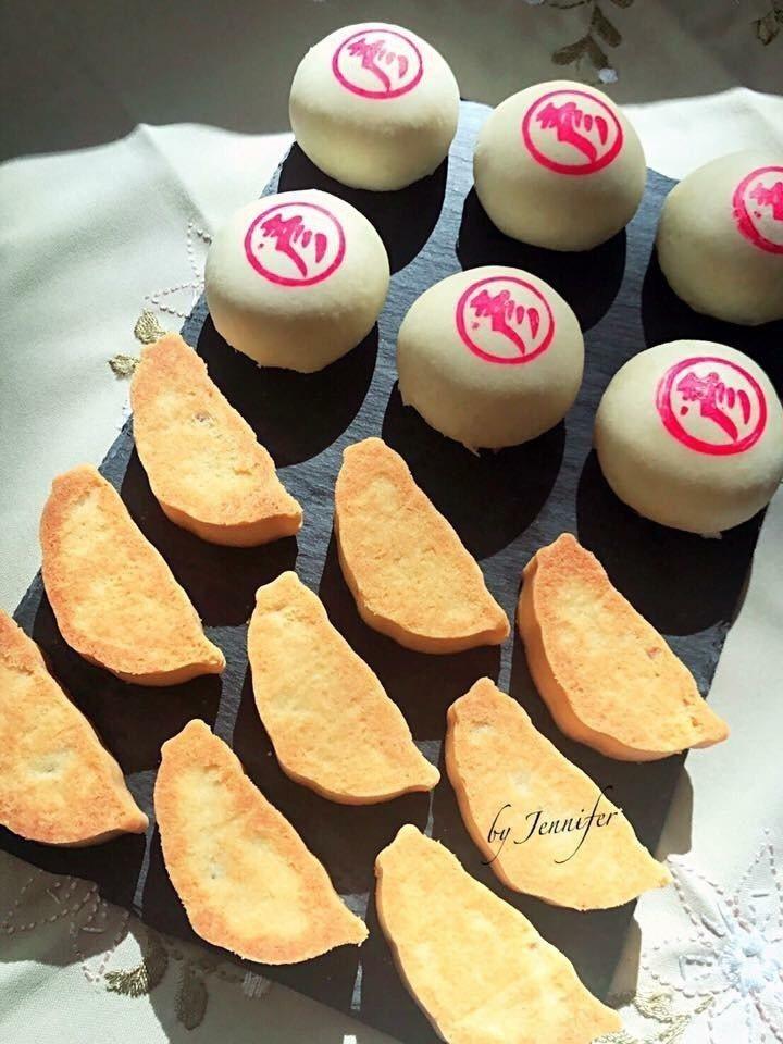 陳彥柔製作的糕點。圖/陳彥柔提供