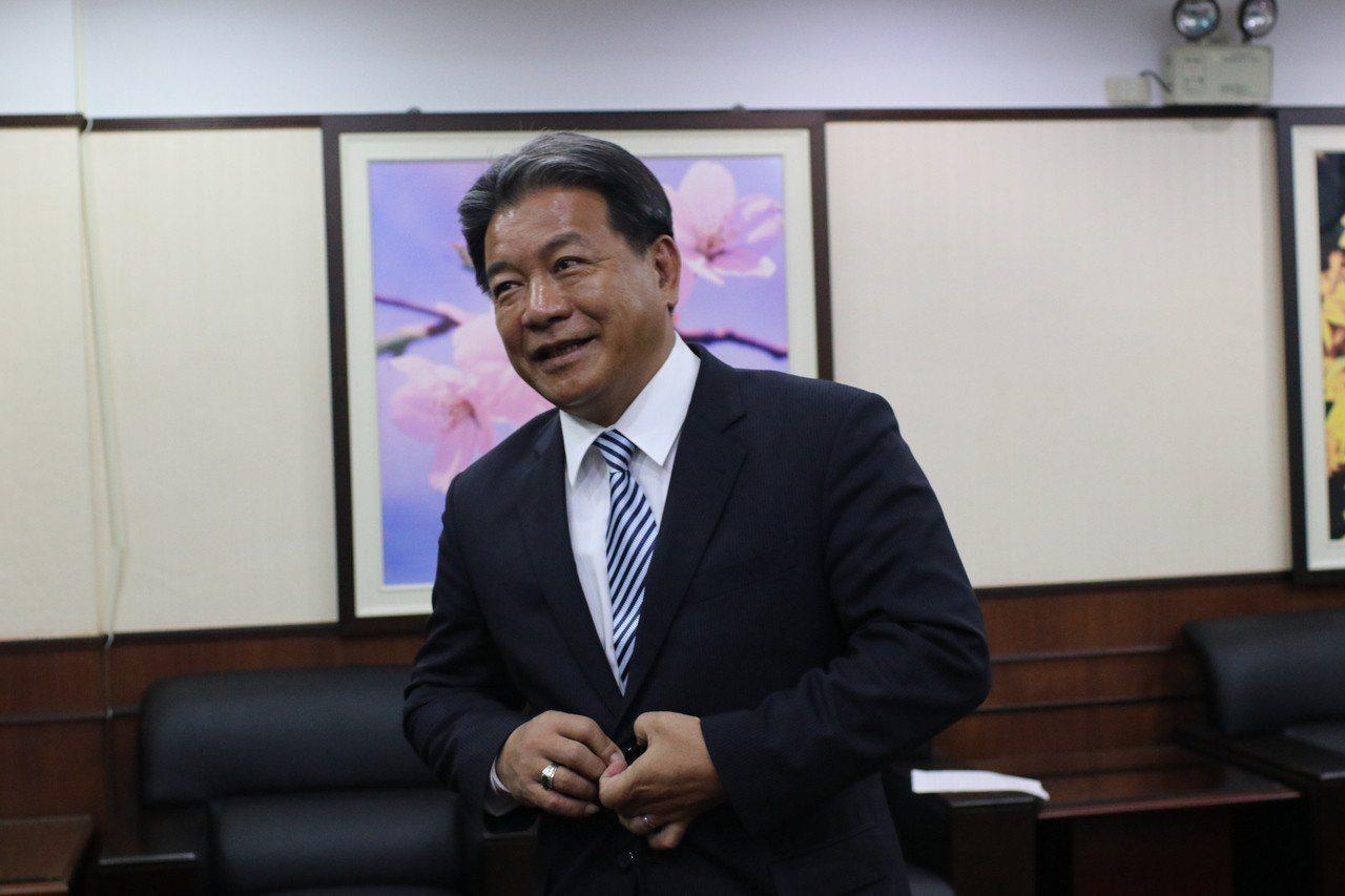 台南市副議長郭信良。記者綦守鈺/攝影