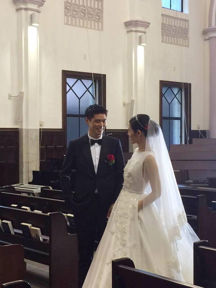 李坤儀(右)與趙贊凱結婚2年多。圖/摘自臉書