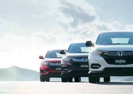 Honda Sensing 成標配 日規 Honda Vezel(HR-V)小改款亮相!