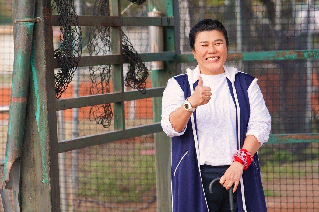 林美秀是「王牌教師麻辣出擊」的女主角,也是謝祖武在片中的重要支柱。圖/弘熹娛樂提...