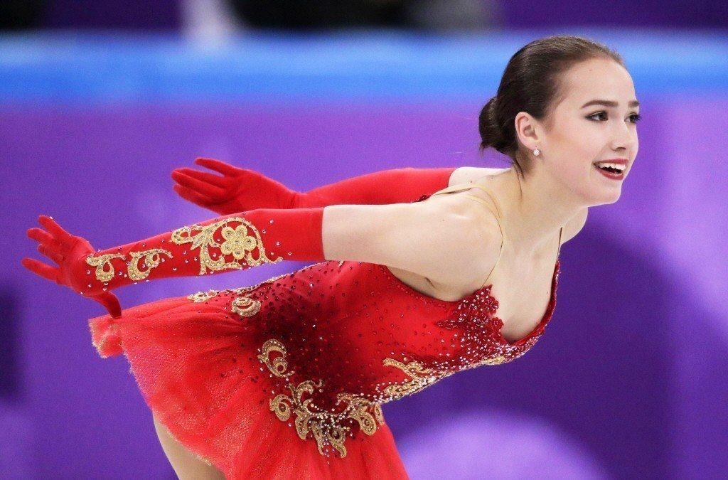 俄羅斯女子滑冰選手,薩姬托娃(Alina Zagitova)。 圖/美聯社