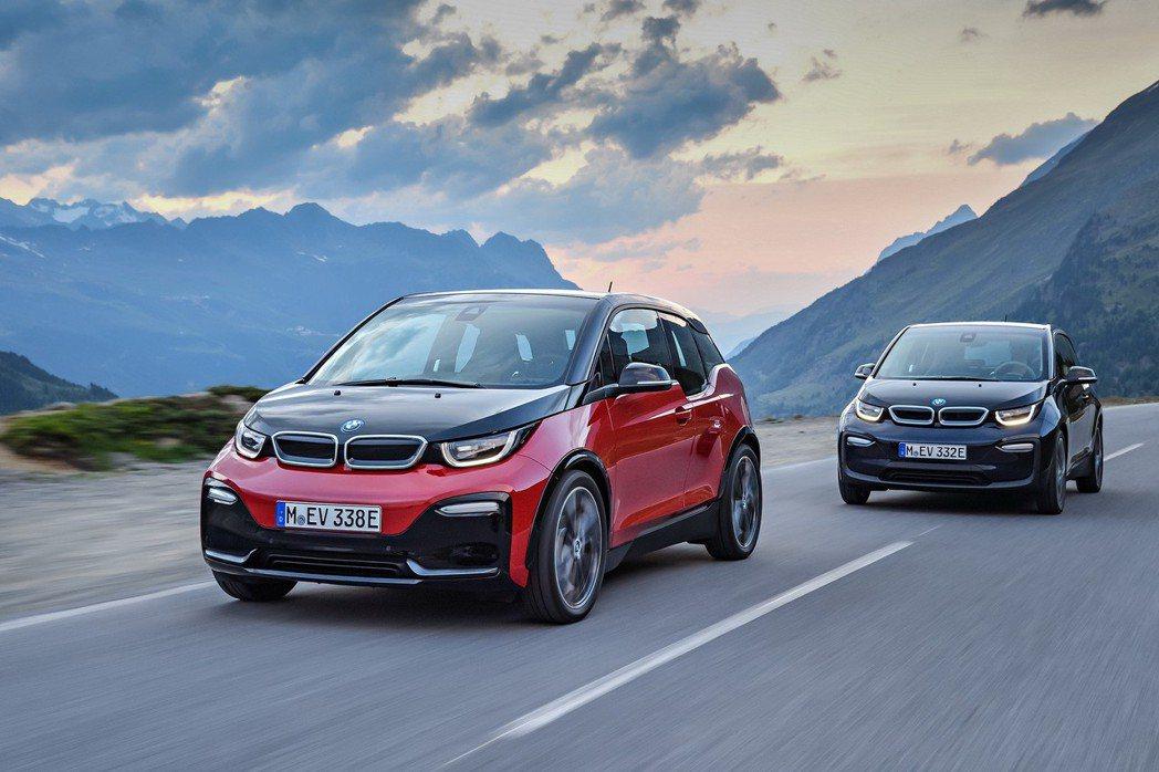 BMW i3、BMW i3s分期零利率專案現正實施。 圖/汎德提供