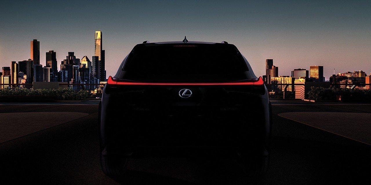 Lexus UX 即將在日內瓦車展上發表。 摘自Lexus