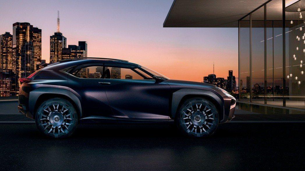 圖為Lexus UX Concept。 摘自Lexus
