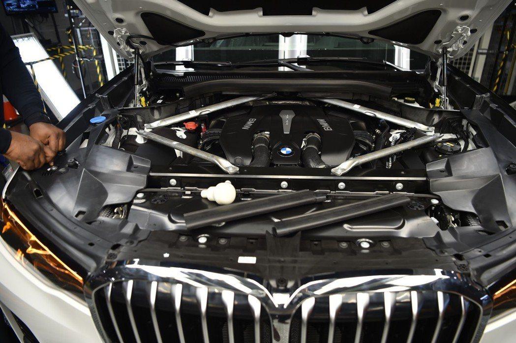BMW X7是BMW車系中最豪華的旗艦休旅車款。 摘自BMW