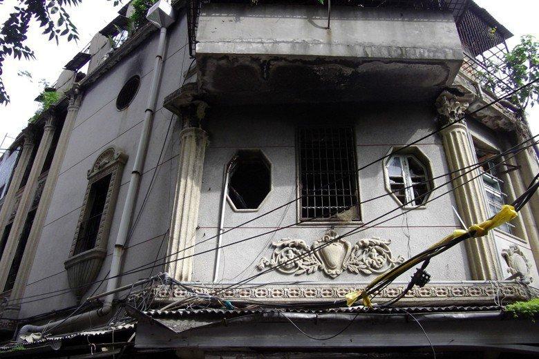 青雲閣被強拆前畫面。 圖/聯合報系資料照